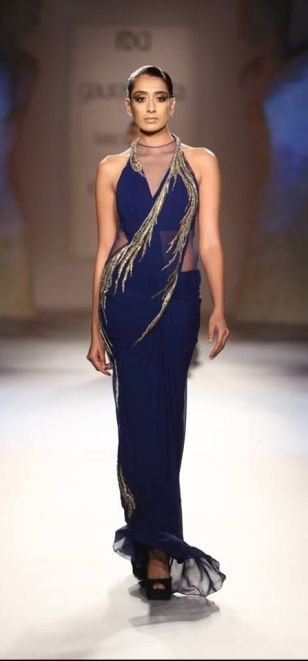 Gaurav Gupta's Peacock Dress